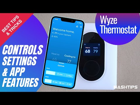 Best Tips for Wyze Thermostat Settings, Controls, App Features, Heat/Cool Test & more!