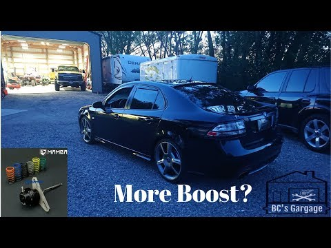 Mamba Wastegate Install and Review Saab 9-3 Turbo X