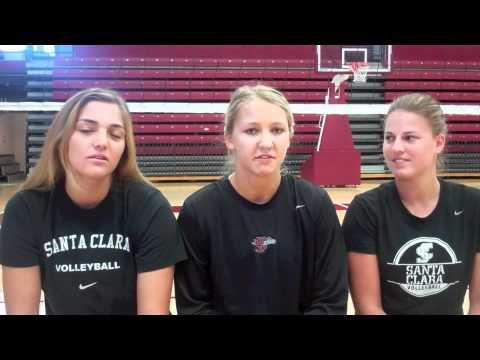Volleyball Season Preview with Kayla Lommori, Alexandra Palmer and Katherine Douglas