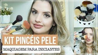 MAQUIAGEM PARA INICIANTES #20: COMO MONTAR UM KIT DE PINCEIS DE PELE