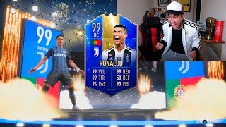 ME SALE RONALDO TOTS 99 IN A PACK OPENING!