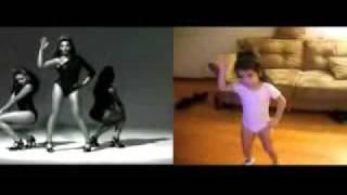 Маленькая девочка танцует как Beyonce (Бьонс, Бейонс)(Далеко пойдет!...))) Вы так не считаете?.., 2010-02-23T17:46:09.000Z)