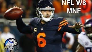 WOW | Jay Cutler Returns in Rare Form, Jordan Howard Explodes, Vikings Implode! || NFL W8 MNF 2016