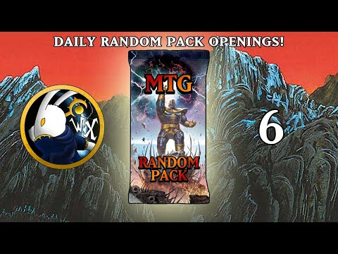 MTG Daily Random Pack Opening! Day 6 Hint: He Is... Inevitable... (The Wizzerdrix)