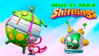 Shiftlings game for Kids gameplay Multi Max funny game for Kids online animated cartoons