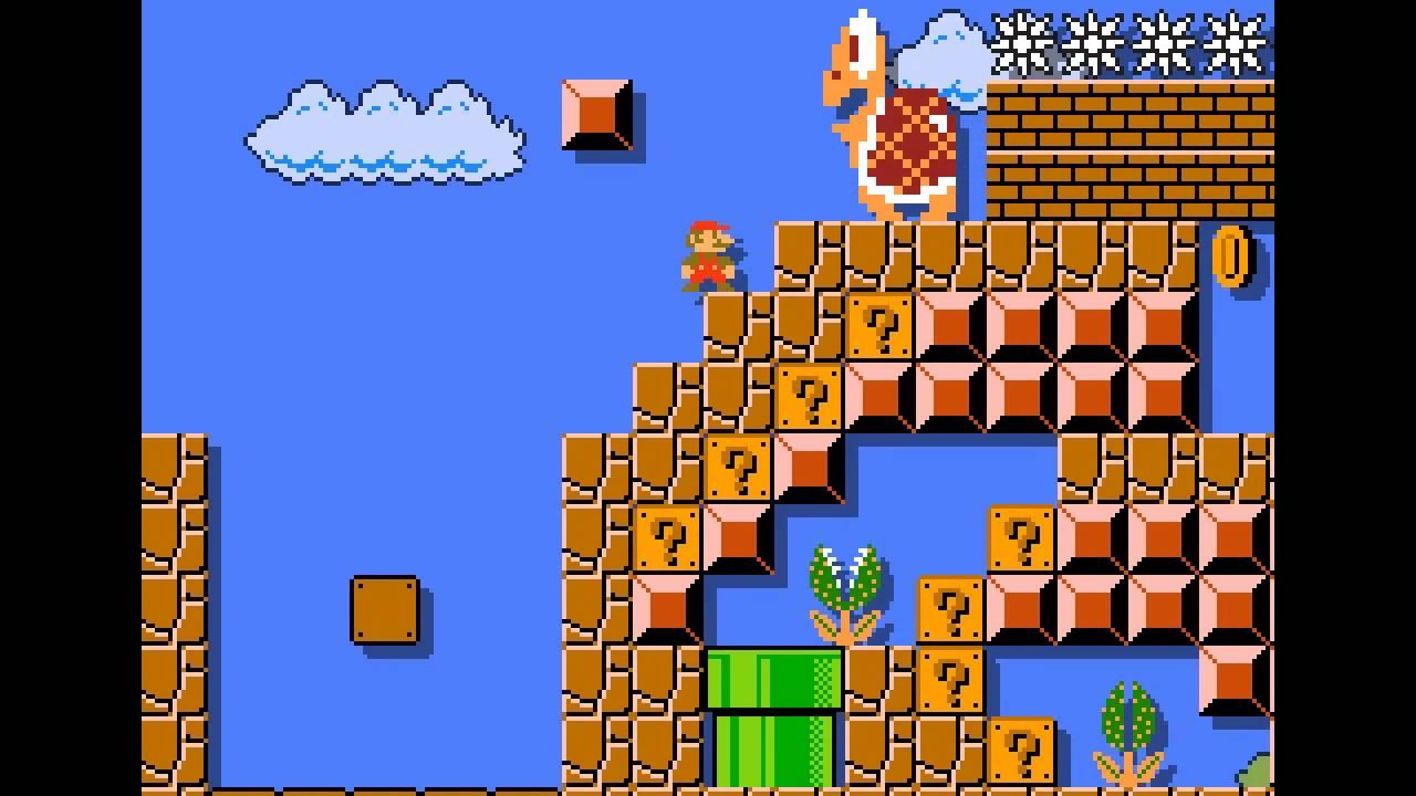 Super Mario Bros  FanGame Development ShowCase 161004