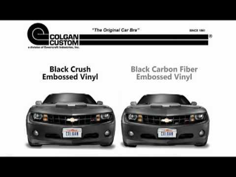 Carbon Fiber Colgan Original Front End Cover Bra Fits 2004-06 BMW 325Ci BC4950CF