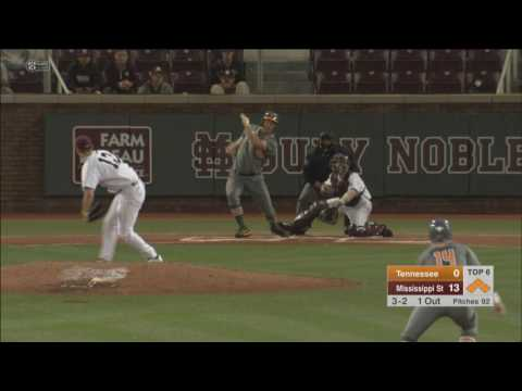 Baseball Video Recap: Mississippi State 14, Tennessee 4 (3.25.17)