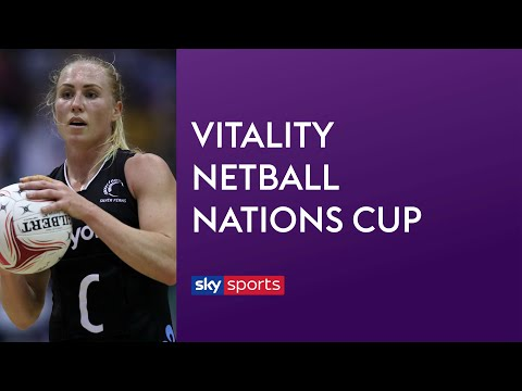 LIVE NETBALL! New Zealand Vs South Africa