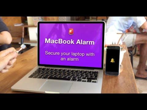 MacBook Alarm