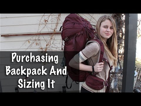 Purchasing my Daughters First Backpack at REI and Sizing It - Season 2 -Ep#8
