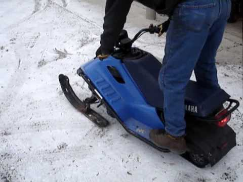 Sno scoot parts for sale youtube for Yamaha sno scoot
