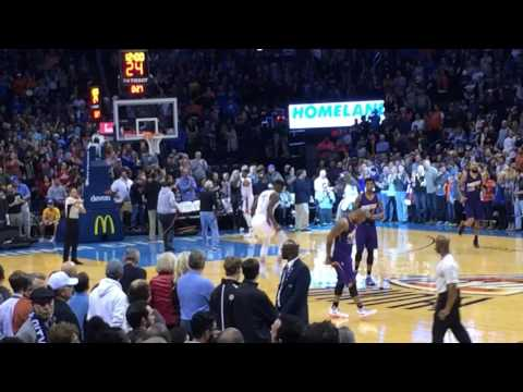 Oklahoma City Thunder Pregame Tip-Off (2016)