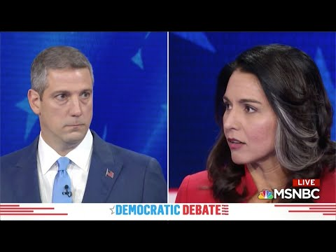 Watch the 5 minutes that have people talking Tulsi! tulsi.to/trumps-chickenhawk-ca binet  A soldier's truth about the establishment war machine driving US foreign policy - #TULSI2020 #TulsiTrending #DemDebate., From YouTubeVideos