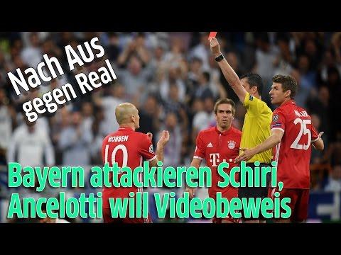 Champions League Viertelfinale: FC Bayern München vs. Real Madrid – Schiedsrichter kritisiert