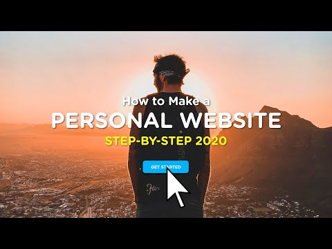 How To Create A Personal / Portfolio Website | 2020 Step-By-Step Guide!