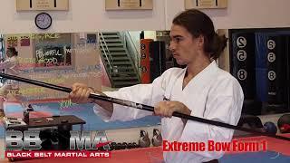 Extreme Bow Form 1   BBMA, Sensei Josh