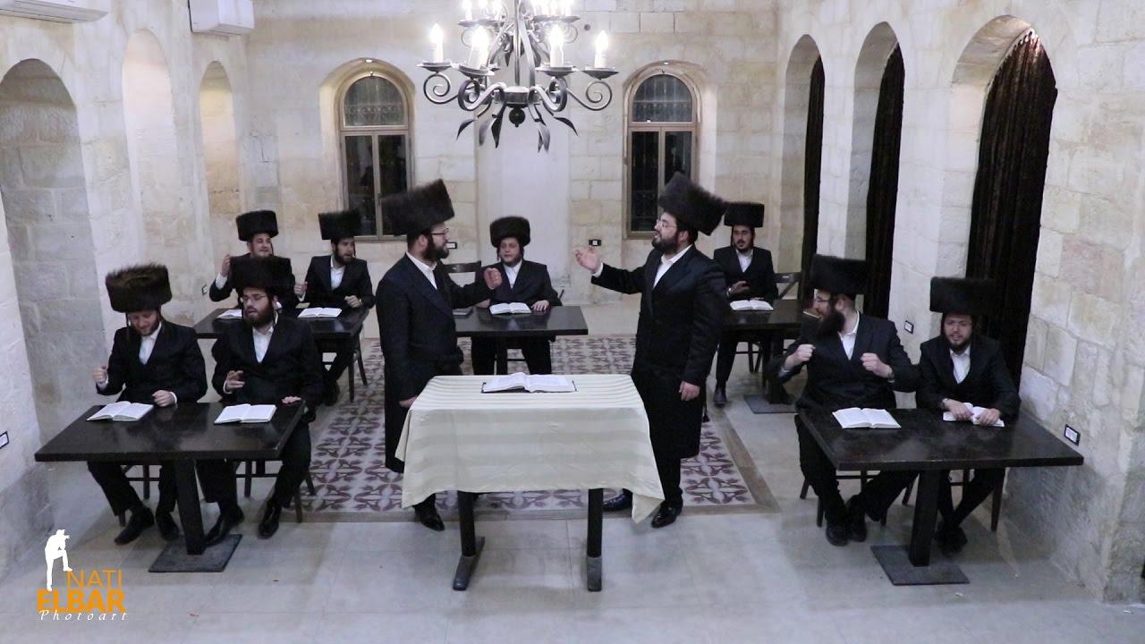מקהלת מלכות, ברוך ויזל, מוטי ויזל - נאך איין שבת - ווקאלי | Malchus Choir, Baruch Vizel, Motty Vizel