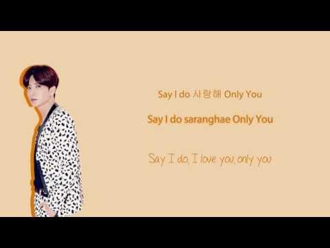 Super Junior - Sarang♥ lyrics (Hangul/Romanization/English)