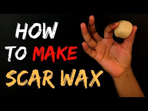 How To Make Scar Wax !!