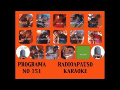 RadioAplauso Karaoke Programa No 151