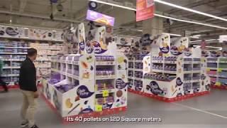 SMILE FACTORY Mondelez Auchan 4 Temps La Défense