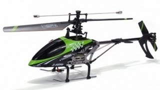 FX078 4CH 2 4G Single Blade RC Helicopter With LCD Screen from China toys factory supplier
