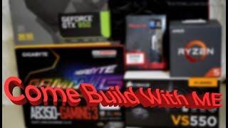 Ryzen 5 1600 Build Ft Gigabyte  AB350 Gaming 3 Mobo, HyperX Predator 3200Mhz Ram n Circle CC930 Case