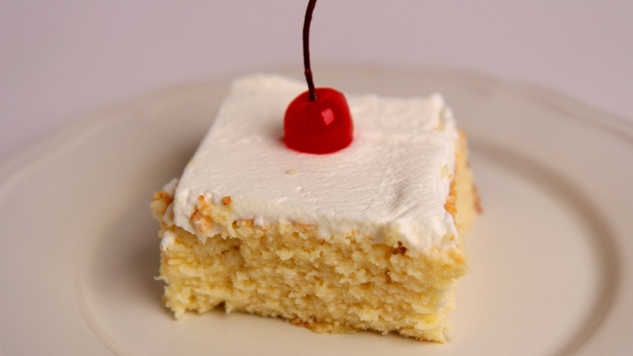 Tres Leches Cake Recipe Laura Vitale