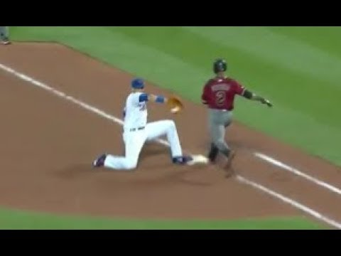 MLB Amazing First Base Scoops