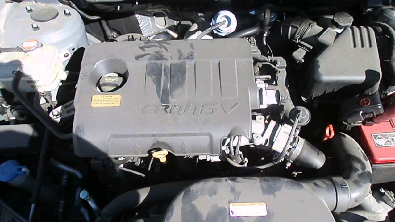WRECKING 2011 HYUNDAI I30 ENGINE DIESEL, 16, D4FB, TURBO, FD (J13551)  YouTube