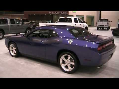 Dodge Challenger Video From Minneapolis Auto Show YouTube - Minneapolis muscle car show