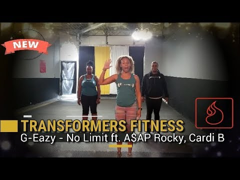 G-Eazy - No Limit ft. A$AP Rocky, Cardi B || Get Fit with Transformers Fitness
