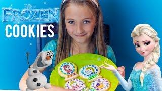 Disney FROZEN Anna Elsa Olaf Kristoff Sven Holiday Christmas Cookies HD - PLP Thumbnail