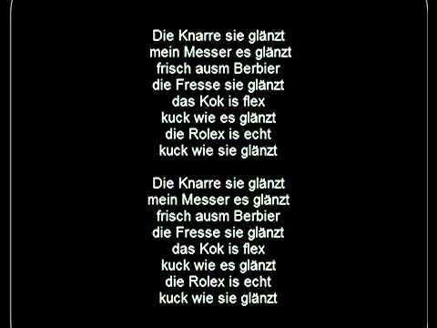 Haftbefehl   Glänzen Lyrics