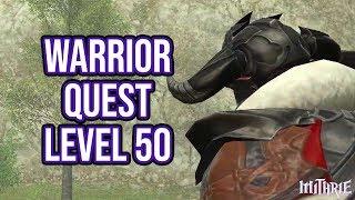FFXIV 2.15 0247 Warrior Level 50 Quest + Artifact Gear