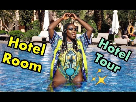 OUR HOTEL & HOTEL ROOM TOUR, MARRAKESH, MOROCCO | Fumi Desalu-Vold