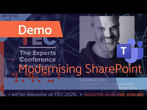 Modernizing SharePoint for a better Microsoft Teams experience