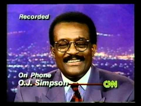 The OJ Simpson Verdict - Johnny Cochran on CNN Larry King