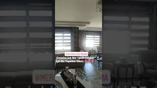 Mersin stor perde yıkama 0507 509 97 55 Zebra Stor Perde Yıkama