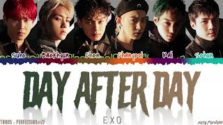 Download lagu EXO (엑소) - 'DAY AFTER DAY' (오늘도) Lyrics [Color Coded_Han_Rom_Eng]