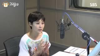 [SBS]씨네타운, 전미선, 촬영장에서는 막내일때가 편한것 같다.