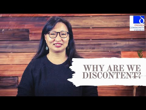 Why are we discontent? Achui Tungshangnao