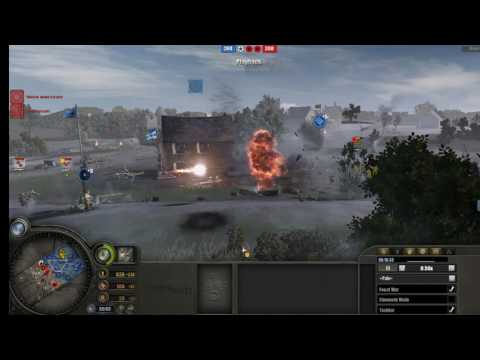 Panzer Elite A.A Flak shot down U.S Scout plane.. Kill panther