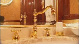 Gold taps and a private zoo: President Yanukovych