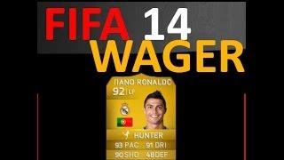 FIFA 14 PC - Ronaldo vs Ronaldo Wager Match!!!