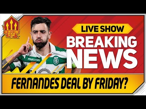 Bruno Fernandes Deal By Friday? Wan-Bissaka Offical Tomorrow! Man Utd Transfer News