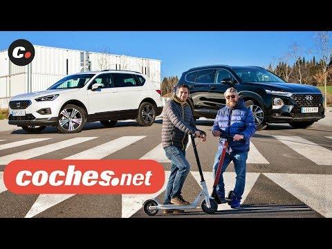 Hyundai Santa Fe vs Seat Tarraco SUV | Prueba / Test / Review en español | coches.net