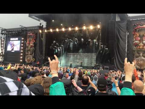 Download festival 2016 - Disturbed - down with the sickness