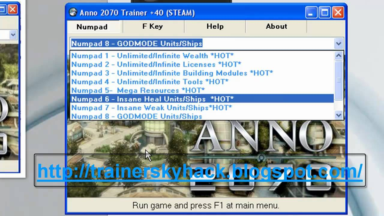 Anno 2070 trainer 40 steam working trainer youtube for Anno 2070 find architect